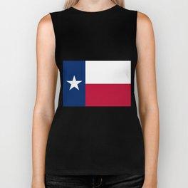 Texas State Flag Biker Tank