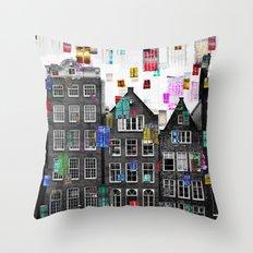 Amsterdam 33 Throw Pillow