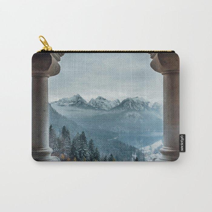 The view - Neuschwanstin casle Carry-All Pouch