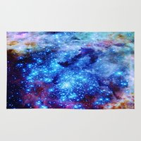 galaxy Area & Throw Rugs featuring galaxy by 2sweet4words Designs