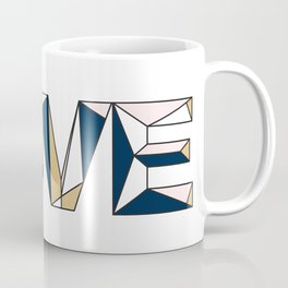 Navy & Rose LOVE Coffee Mug