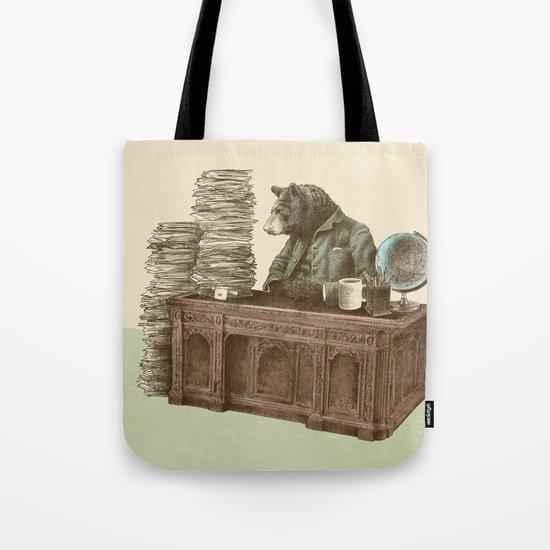 Bearocrat Tote Bag