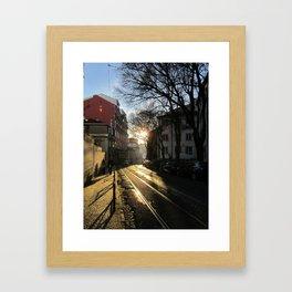 Lisboa 2: Alfama Framed Art Print