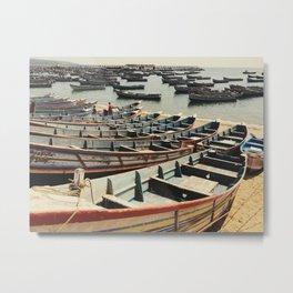 Fishing Boats Metal Print