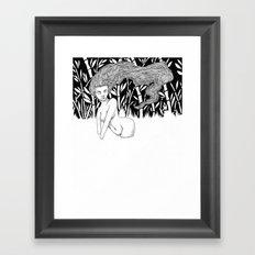 Bamboo Lake Framed Art Print
