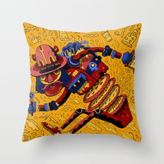 Pizza Time Throw Pillow