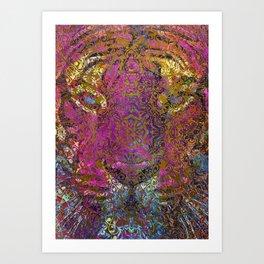 magic mandala 42 #magic #mandala #decor Art Print