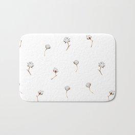 Cotton pattern Bath Mat