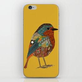 robin gold iPhone Skin