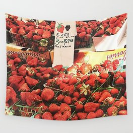 Strawberry Wall Tapestry