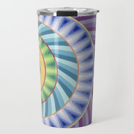 Colour Explosion Mandala Travel Mug