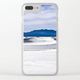 White Sands N.M. Clear iPhone Case
