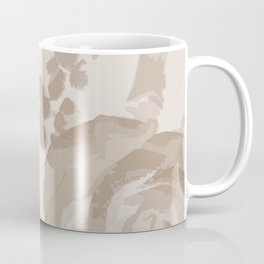Grey Roses Coffee Mug