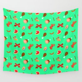 Meat Pattern Wall Tapestry