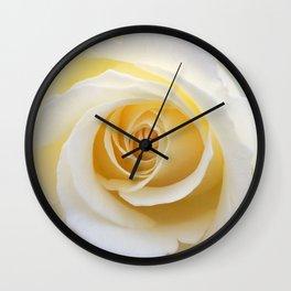 Yellow Rose | Flower Photography | Spring | Summer | Art Prints Wall Clock