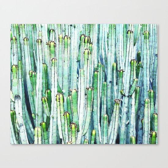 Lost Cactus #society6 #decor #buyart Canvas Print