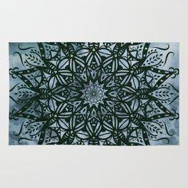 Mandala Splash Rug