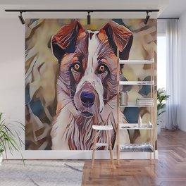 The Norwegian Elkhound Wall Mural