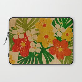 Limahuli Garden Hawaiian Floral Design Laptop Sleeve