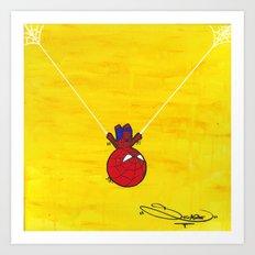 S.M. Hero 1 Art Print