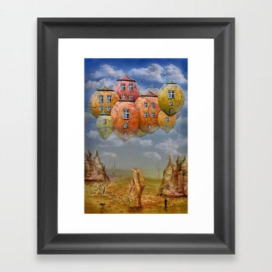 Sweet Home Framed Art Print