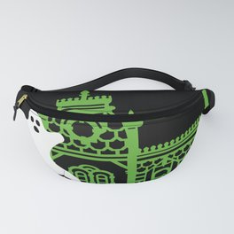 Haunted Victorian House Fanny Pack