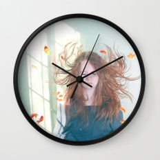 Deep Sea Wall Clock