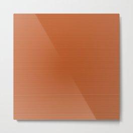 Terracotta 900°C Metal Print