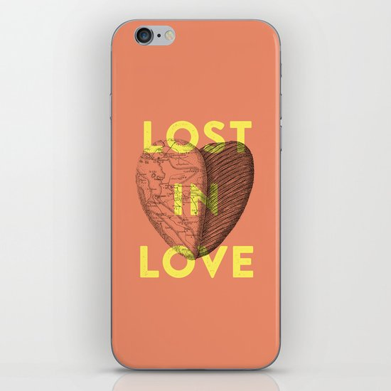 Lost in love iPhone & iPod Skin