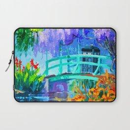 Tardis Art And The Bridge Laptop Sleeve