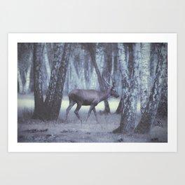Rambouillet Forest I Art Print
