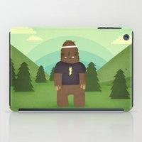sasquatch iPad Cases featuring sasquatch  by Pope Saint Victor