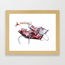 Rebellion Racing Framed Art Print