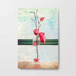 Elegance 02 (Chinese Lantern) Metal Print