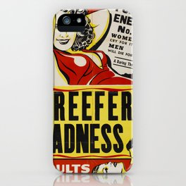 Reefer Madness iPhone Case