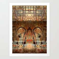 Ancient God I Art Print