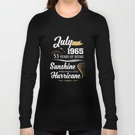 July 1965 Sunshine mixed Hurricane Long Sleeve T-shirt