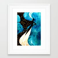 dreamcatcher Framed Art Prints featuring Dreamcatcher by Verismaya