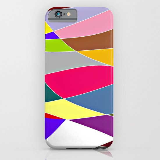 Abstract Lines & Color iPhone & iPod Case