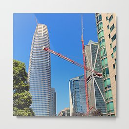 Big Building Boom Metal Print