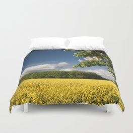 Springfield and blooming chestnut Duvet Cover