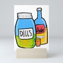 Pickel Back Shots Mini Art Print