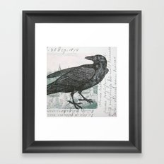 Raven of Marburg - Square Framed Art Print