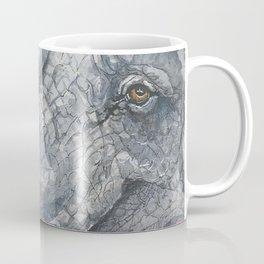 Happy Elephant Watercolor Coffee Mug
