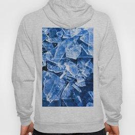 Blue Broken Ice for hot summer days Hoody