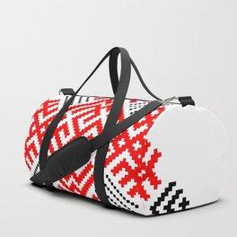 Rodimich - Antlers - Slavic Symbol #1 Duffle Bag