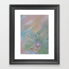 Tipsy Orchid Framed Art Print