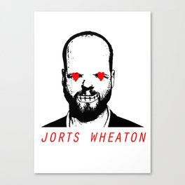 JORTS WHEATON Canvas Print