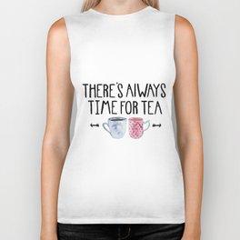 Always Time For Tea! Biker Tank