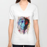 persona V-neck T-shirts featuring Persona by DesArte